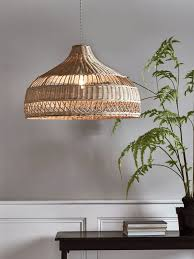 rattan pendant lighting. intricately woven from natural rattan our unique parasolshaped lightshade is inspired by pendant light fittingwoven shadespendant lighting