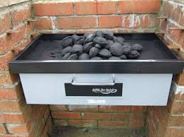 diy charcoal barbecue with ed oven the grill and bake bbq from planet barbecue uk