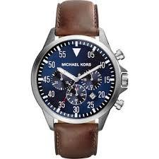 michael kors men s watches shop the best deals for 2017 michael kors men s mk8362 gage chronograph brown leather watch