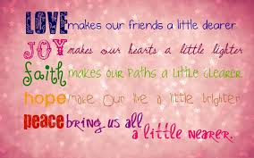 Love And Peace Quotes Classy Lovejoyfaithpeacequotes Redemptoristine Sisters Dublin Ireland