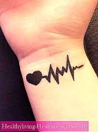 Tetování Srdce Na Zápěstí