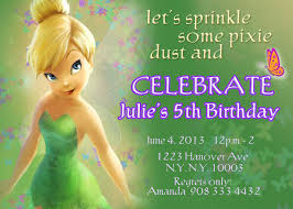 tinkerbell invitations fairy invitations pixie fairy 128270zoom