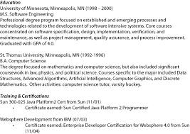 education scrum master resume