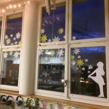 Unser Fensterschmuck Zum Thema Sterne Sterntaler