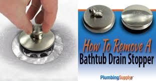 how to remove a bathtub drain stopper og jpg