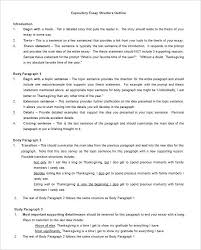 Essay Template Outline Metabots Co