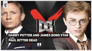 Harry Potter and James Bond Star Paul Ritter Dead - YouTube