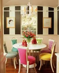 a punch of pink in the dining room emily a clark dining room colors