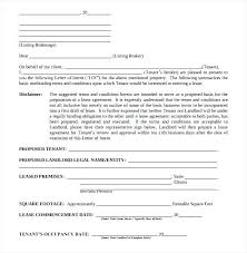 Free Download Letter Loi Template Letter Of Intent Sample Commercial Real Estate