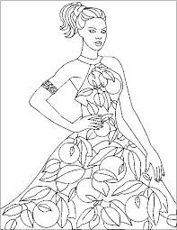Small Picture Fashion Coloring Pages Coloring Pages Online