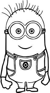Small Picture Coloring Pages Kevin Minions Coloring Pages Printable
