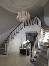 popular tiered chandelier entrance lighting modern crystal entryway exquisite styles foyer steel stained handrail stairs good lookingntrance your