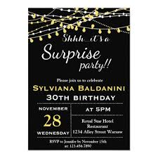 Surprise Birthday Card Invitations Magdalene Project Org