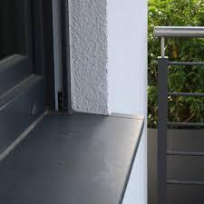 Fensterbank Naturstein Basalt Schwarz Matt 125x20x2cm Ebay