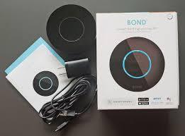 bond smart wi fi ceiling fan remote hub