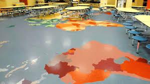 vct commercial tile colors floor