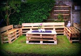 pallet lawn furniture recycled pallet outdoor
