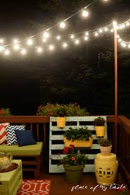 outdoor stair lighting lounge. Learn How To Hang String Lights On Your Deck!! So Fun And Cozy! Outdoor Stair Lighting Lounge