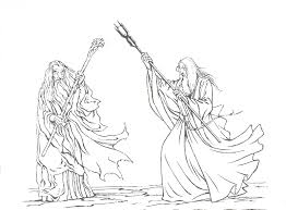 Small Picture Coloring Pages Lord Rings Gekimoe 17426