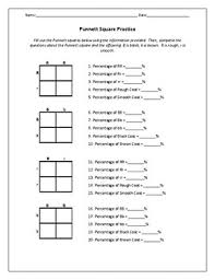 Pedigree Chart Worksheet With Answer Key Biology Genetics Worksheets