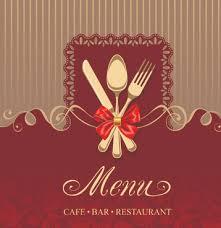 Restaurant Menu Card Background Free Vector Download 59 544
