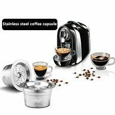 Tchibo cafissimo cups are only suitable for the cafissimo device from tchibo. New Stainless Steel Reusable Refillable Coffee Capsule Pod For Tchibo Cafissimo Ebay