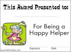Kids Award Certificate Printable Awards For Kids