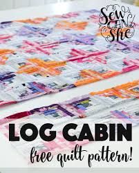 Free Motion Quilting Designs For Log Cabin Log Cabin Quilt Pattern Variations Quilt Pattern