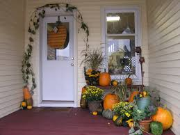Outdoor Decorating For Fall Fall Front Porch Decorating Ideas On Pinterest Pretty Autumn Porch