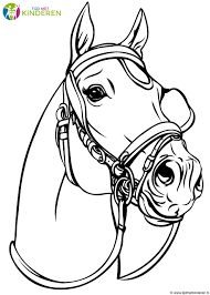 25 Ontwerp Paarden Kleurplaten Mandala Kleurplaat Voor Kinderen