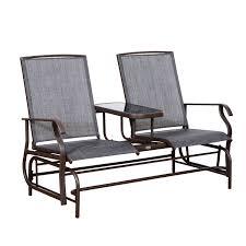 A Patio Glider Rocking Chair