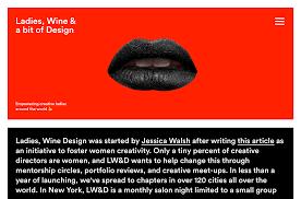New Bern Wine And Design Roger Burkhard Development Interaction Design Ladies