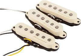 fender vintage noiseless™ strat pickups fender fender vintage noiseless™ strat® pickups aged white
