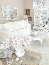 Chic White Bedroom Mirror Nightstands Shabby Chic White Bedroom ...
