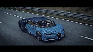 Using over a million lego technic pieces — along with 2,304 small lego electric motors — this bugatti chiron can reach speeds of almost 30 km/h. The Life Size Lego Technic Bugatti Chiron Is The Ultimate Lego Kit