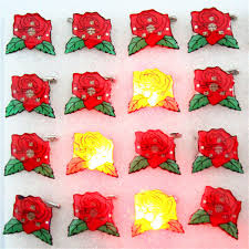 2019 <b>Luminous Flash</b> Rose <b>Flower</b> Cartoon <b>LED Flashing Light</b> ...