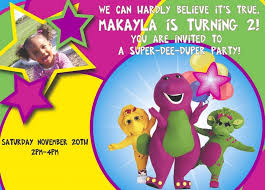 barney party invitation template colors barney birthday invitations template in conjunction with