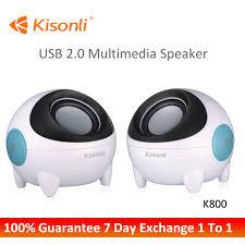 Loa vi tính Kisonli K800 thiết kế đặc biệt - DienTuKey