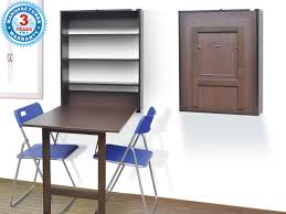 Wall Attached Dining Table Study Table