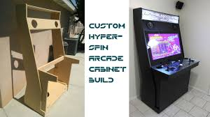 Arcade Cabinet Dimensions Custom Hyperspin Arcade Cabinet Updated With Links To Plans Youtube