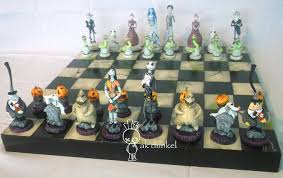 Nightmare before Christmas vs. Corpse bride Chess by ...