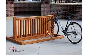 wood bike rack wooden bike rack designs bike rack finishing 1 wood plastic composite bike racks