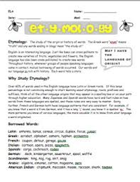 Word Origin Etymology Word Origin Lesson By Using Your Smarticles Tpt