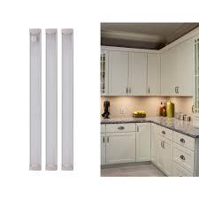 under cabinet lighting plug in. BLACK+DECKER 9 In. LED Warm White 2700K, Dimmable, 3-Bar Under Cabinet Lighting Plug In P