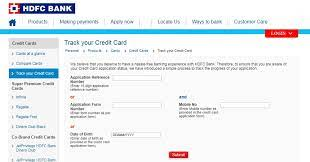 Customers can contact the bank for credit card related services 24 hours on all days including sundays and bank holidays. Hdfc Credit Card Application Status Online Know How To Track