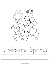 Spring Worksheet Free Worksheets Library | Download and Print ...
