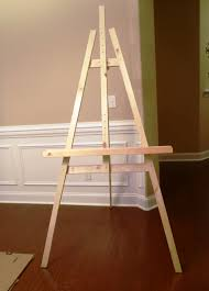 Easel Design Plans Lazy Liz On Less Build A Cheap Quick And Easy Artist Easel