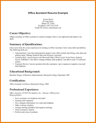 Office Aide Cover Letter Asset Management Resume