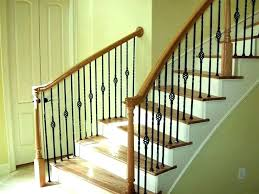 wood stair railing ideas for staircase home simple interior outdoor wooden exterior designs