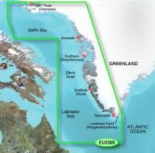 G2 Vision Chart Garmin Bluechart G2 Vision Chart Eu058r Greenland West 010